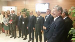 Foto di gruppo ministri della salute .